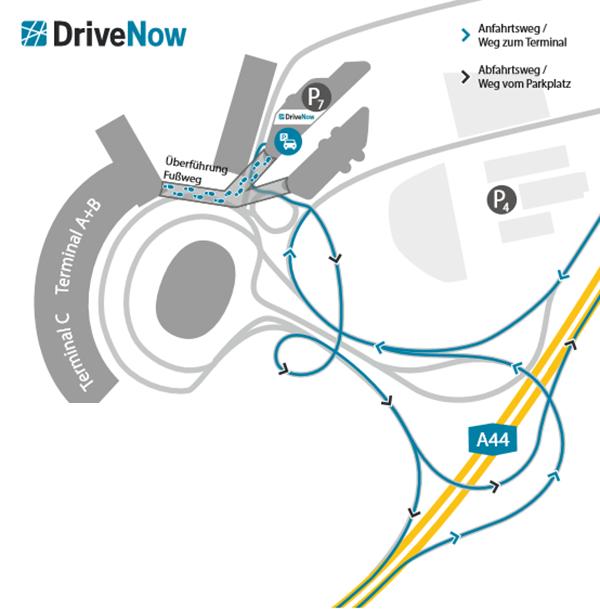Car Sharing Flughafen Köln