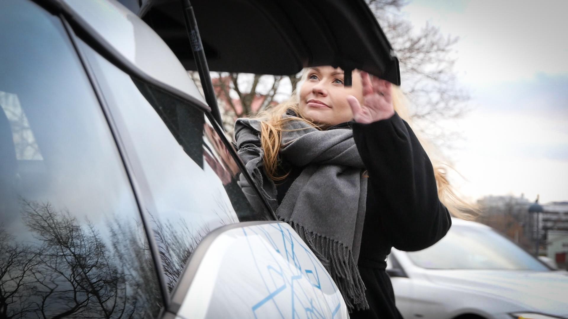 DriveNow-kuski Katri Björklund