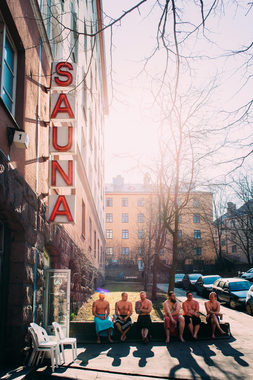 Kotiharjun sauna, kuva Jussi Hellsten, MyHelsinki