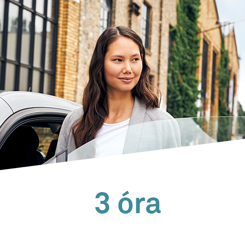 DriveNow Package Budapest 3 Hours
