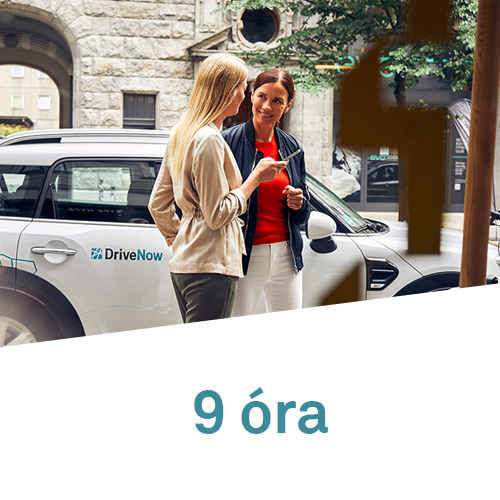 DriveNow Package Budapest 9 Hours