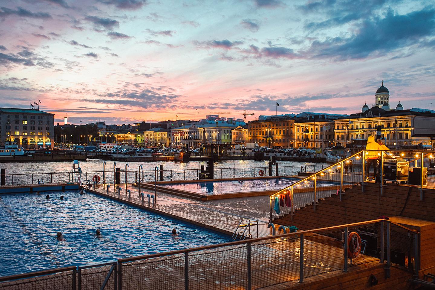 Allas Sea Pool Helsinki DriveNow