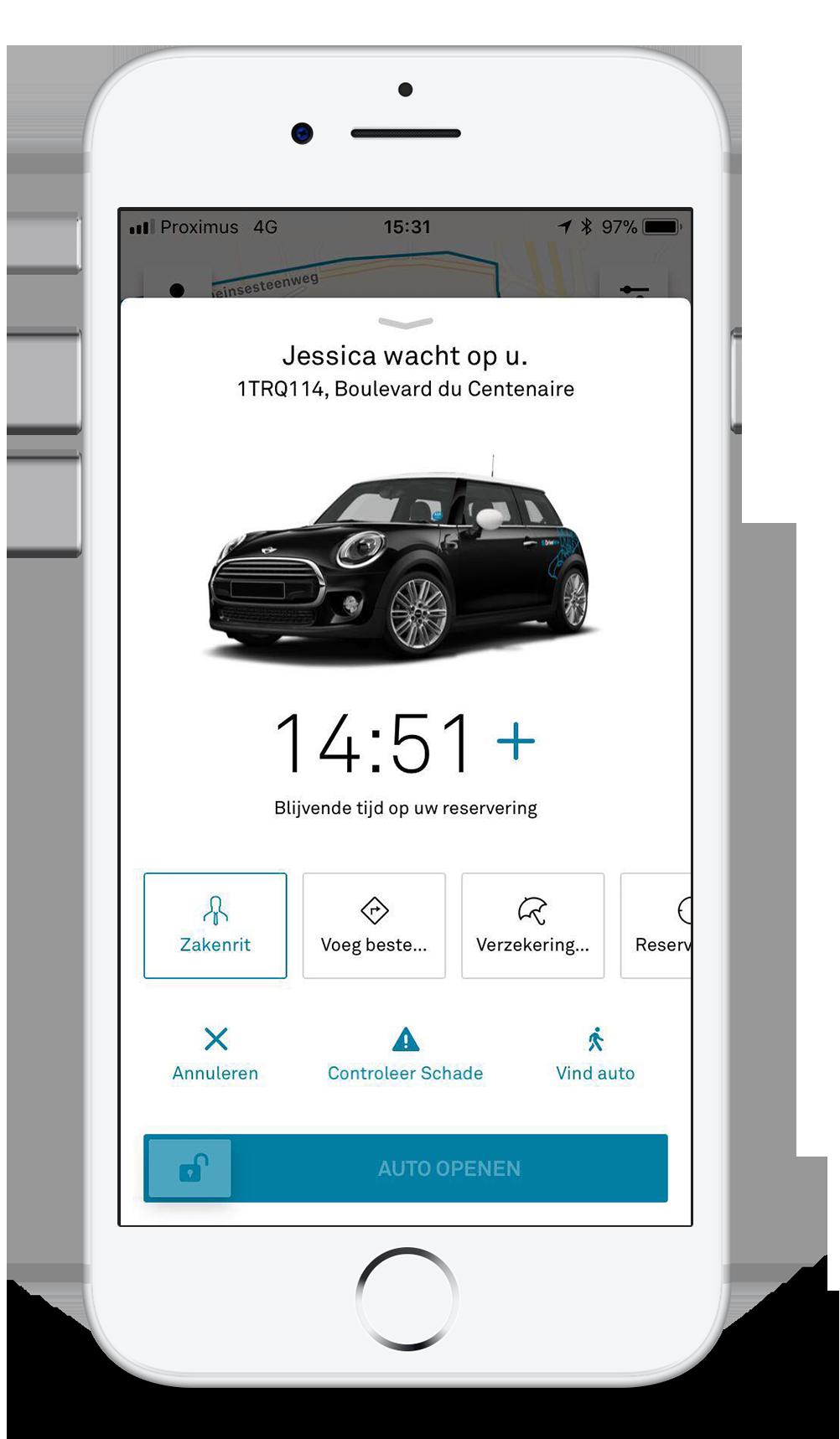 Zakenreizen met DriveNow