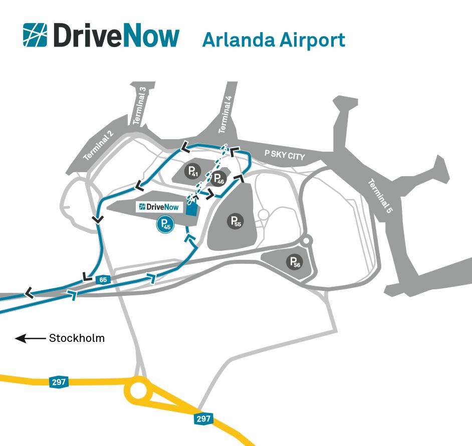 Car Sharing Arlanda Airport Stockholm