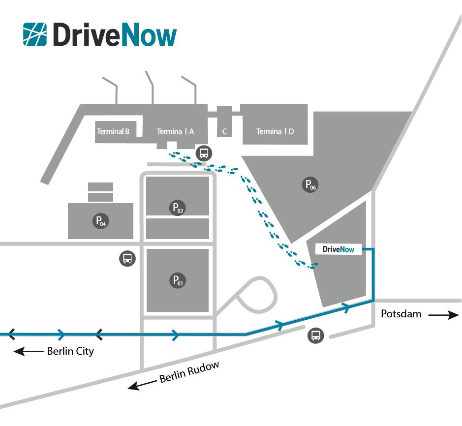 DriveNow Berlin Schönefield Flughafen Carsharing Berlin