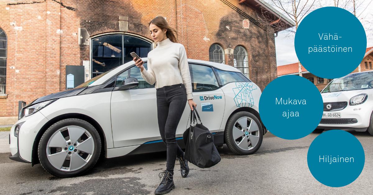 Miksi kaupunkiautoilijat valitsevat sähköauton?