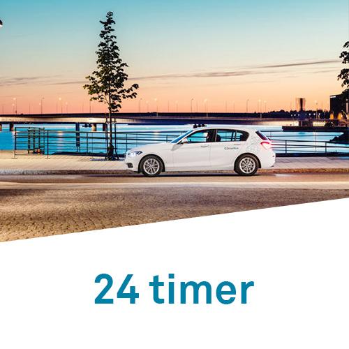 DriveNow timepakker 24 timer