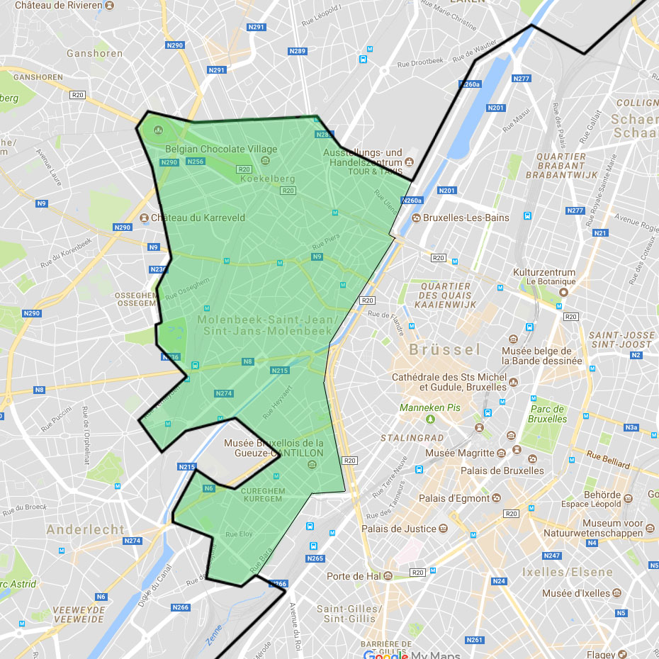 Grooter DriveNow Zone