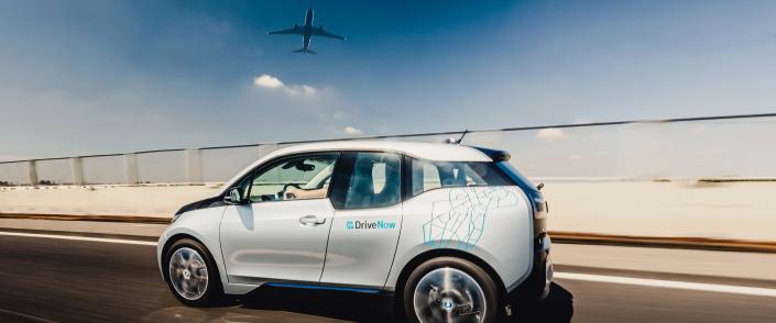 DriveNow Carsharing Helsinki Airport BMW i3