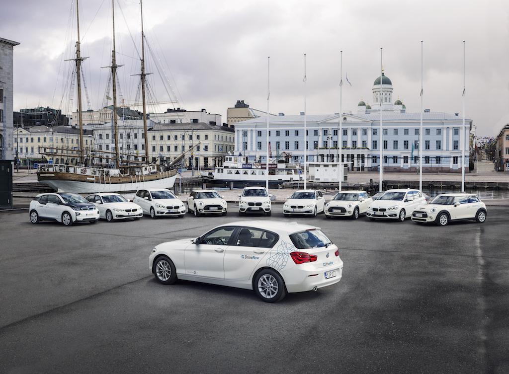 DriveNow:n fleet.