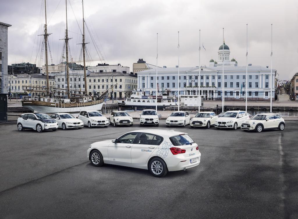 DriveNow-autot Helsinki Fleet