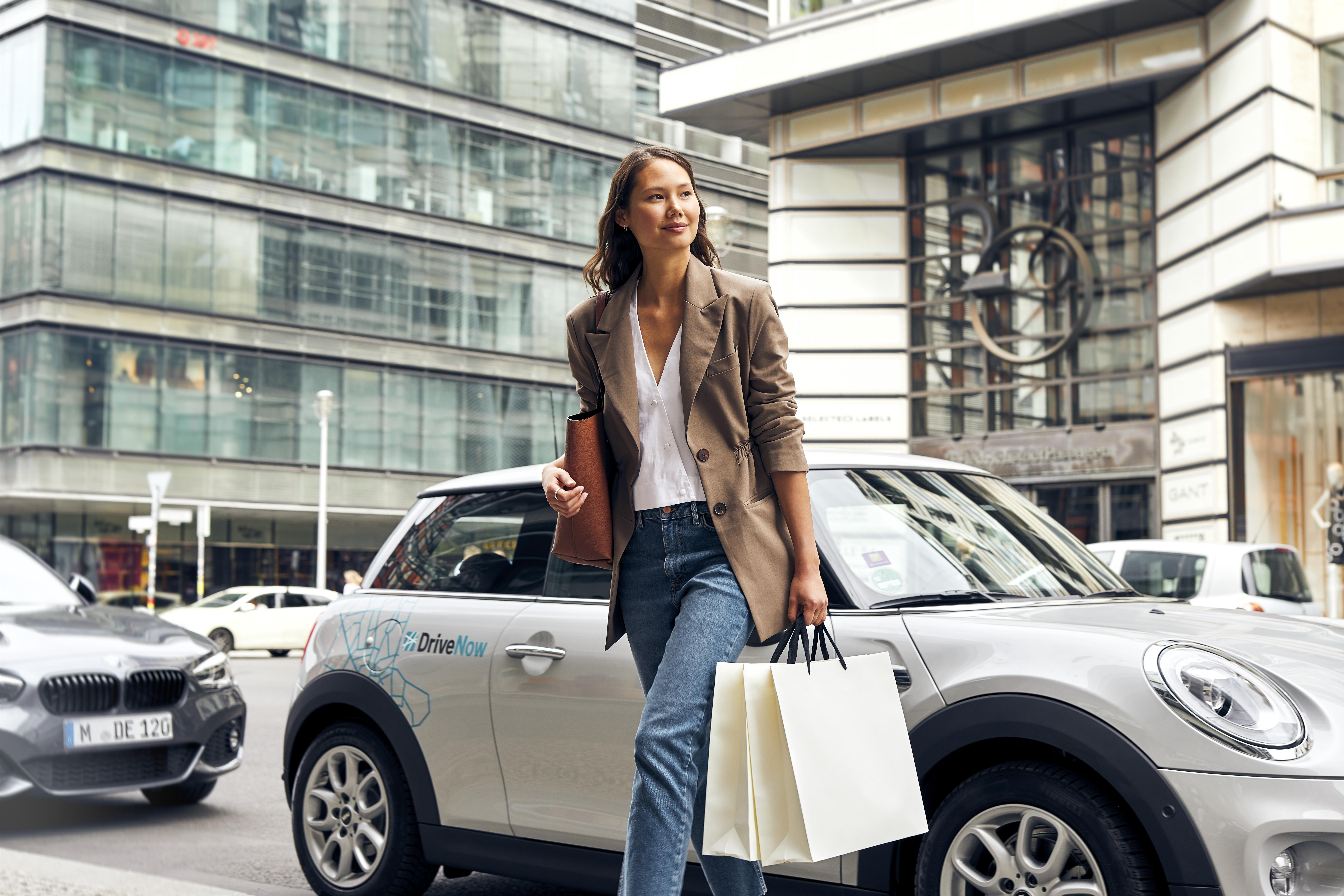 DriveNow:lla kevyesti ostoksille.