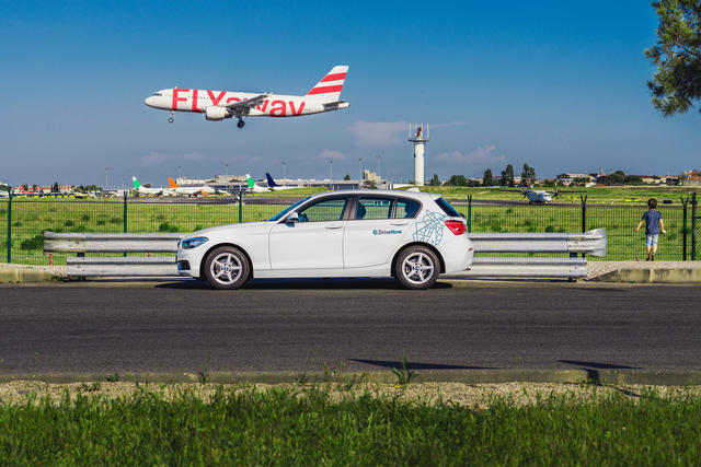 Airport transfer DriveNow