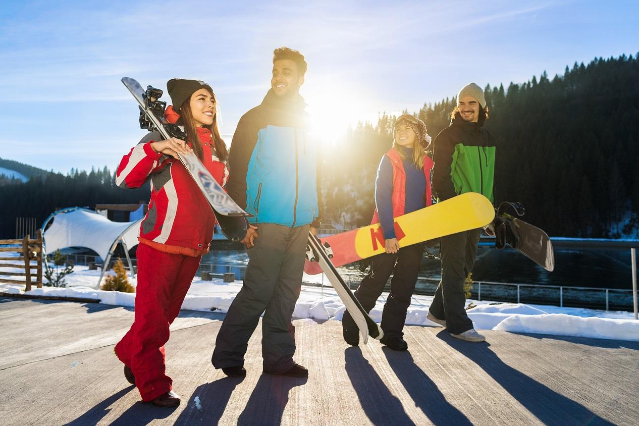 DriveNow Ausflug Skihalle Neuss