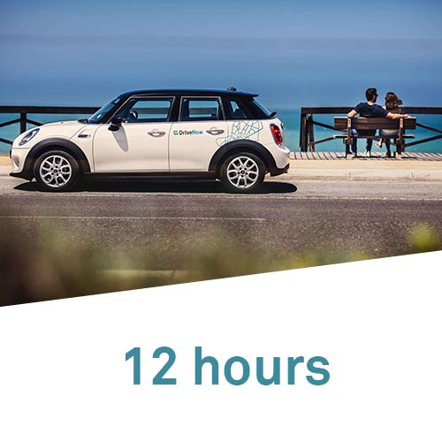 12 hours package DriveNow Carsharing in London
