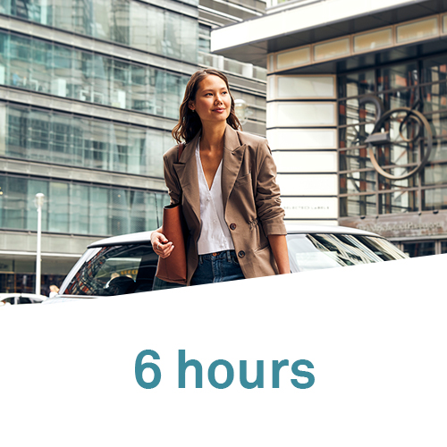 6 hours package DriveNow