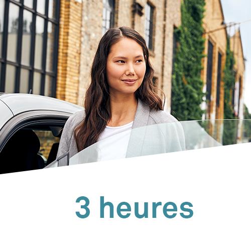 DriveNow Package Belgium 3 stunden