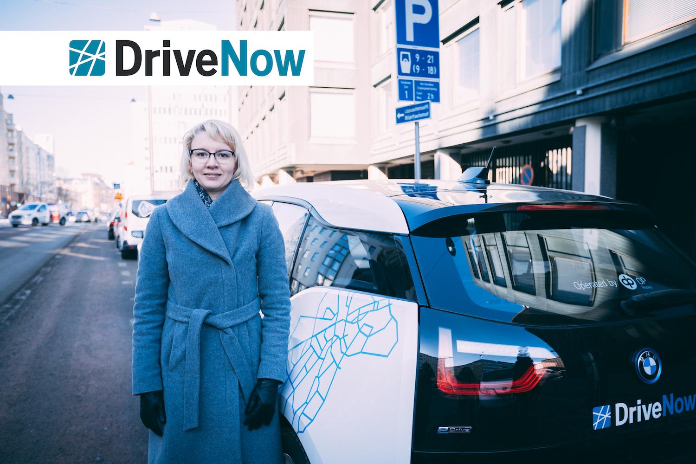 Jelena, DriveNow:n fleet manager