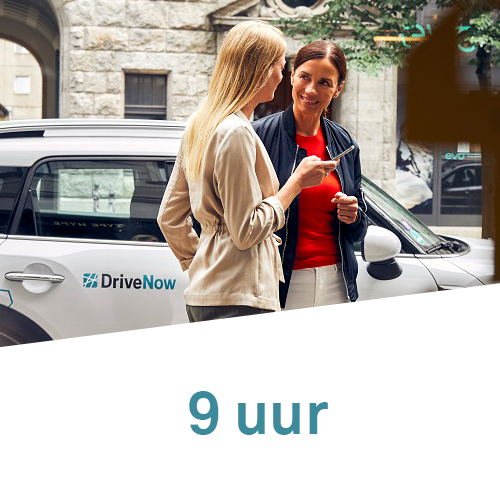 DriveNow Package Germany 3 stunden