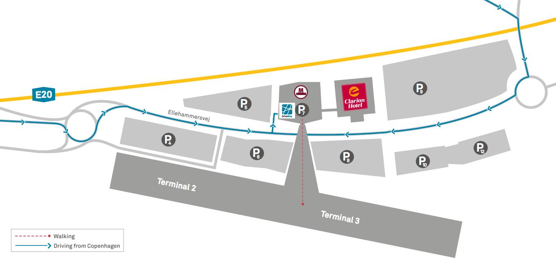 DriveNow Copenhagen Airport Drive'n Fly Carsharing
