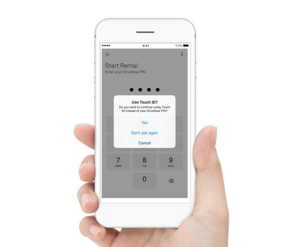 Voit asettaa sormenjälki-/kasvotunnistuksen PIN-koodin sijaan.