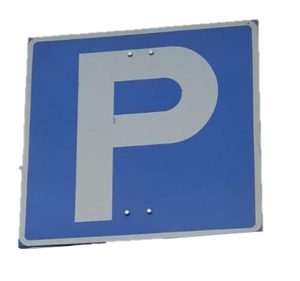 Julkinen parkkipaikka ilman aikarajaa.
