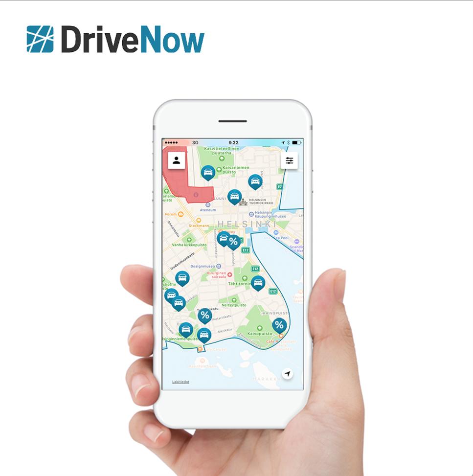 Aja halvemmalla DriveNow-autoilla