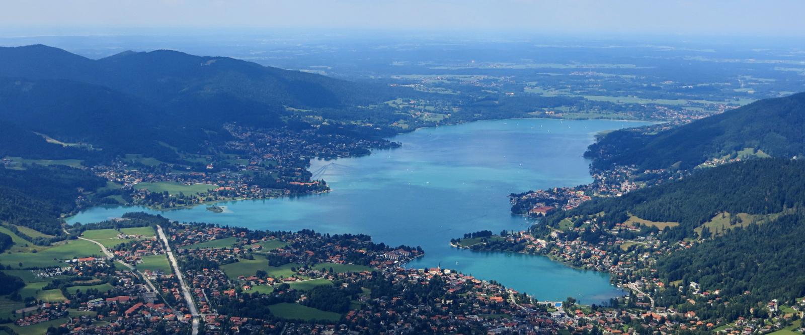 Tegernsee Ausflug von München - See Ausfluge Bayern