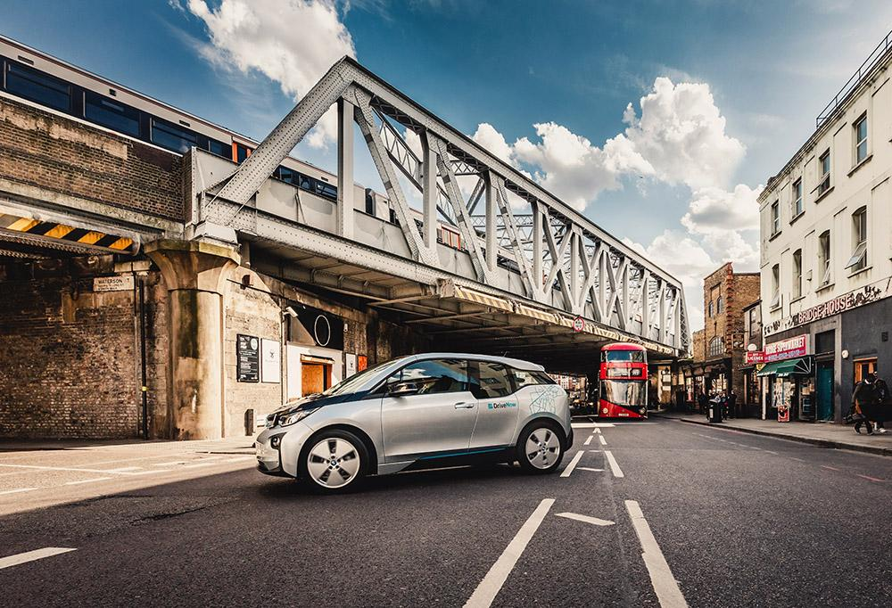 DriveNow_BMW_i3_London_public_transport