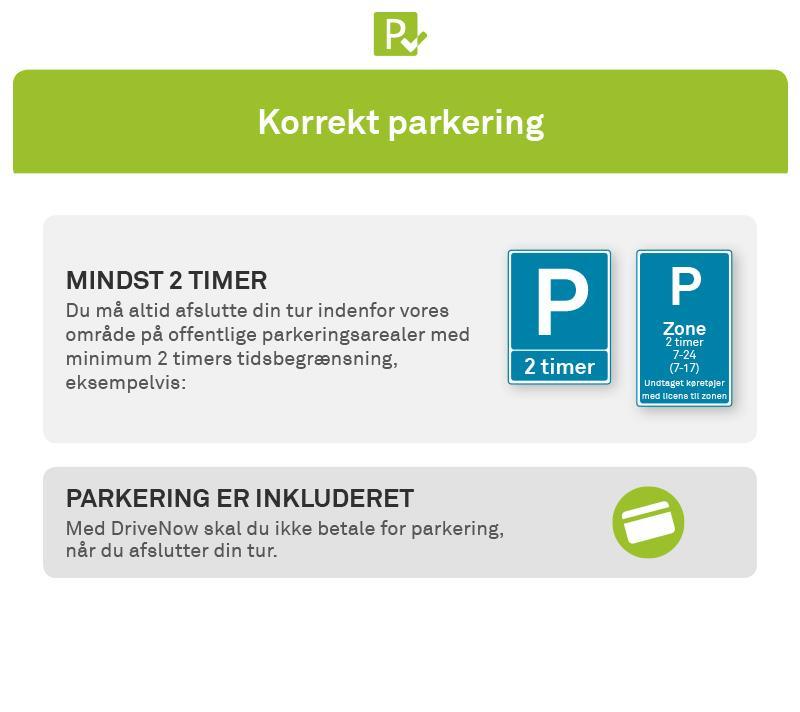 Parkering I København Drivenow Bybiler