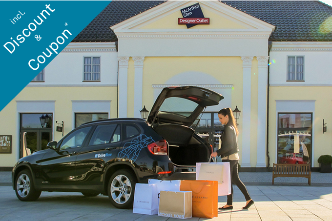Enjoy the Designer Outlet Parndorf with DriveNow! 9f0b8fd845d