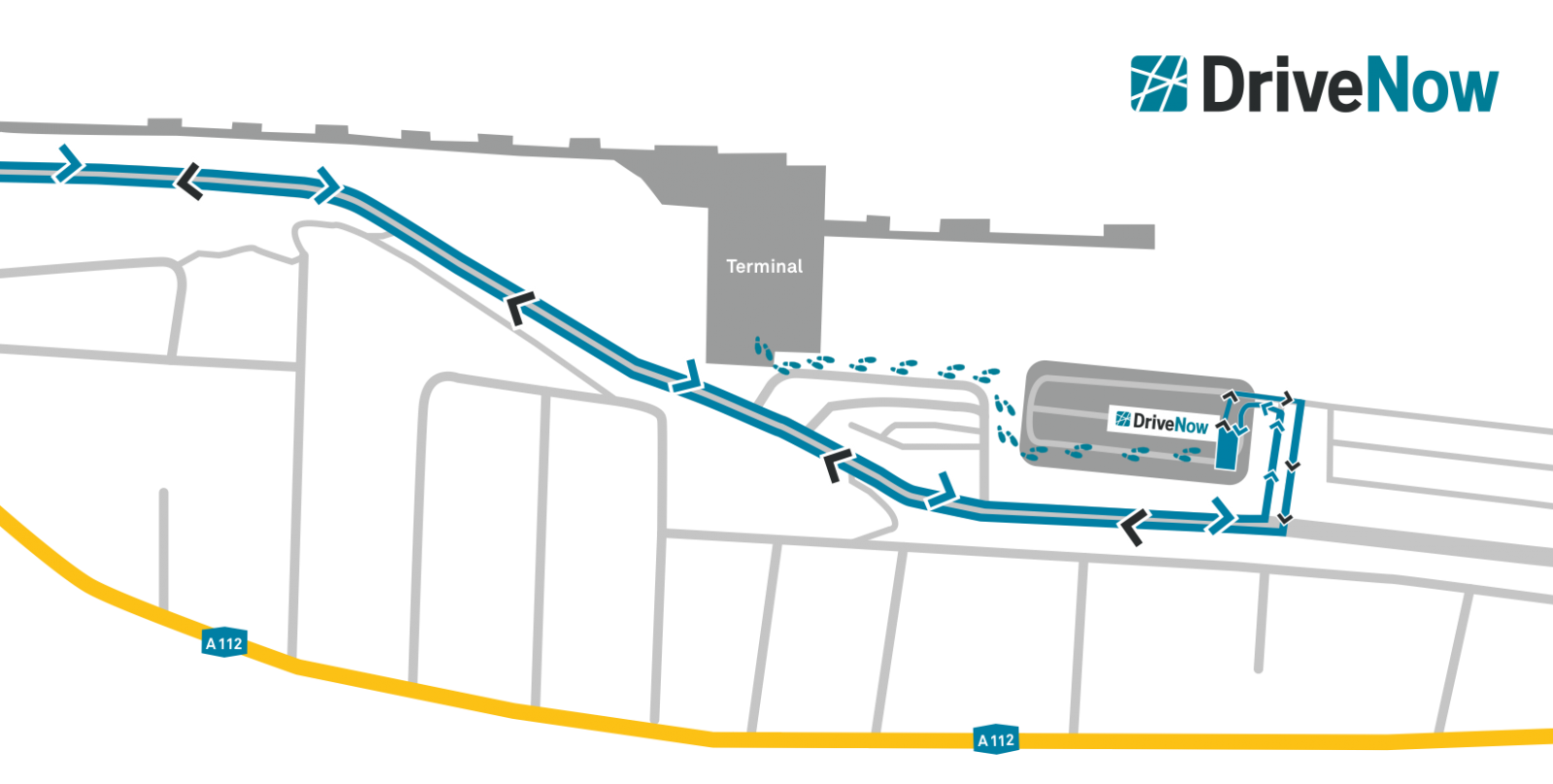Car Club London City Airport Parking Area Guidelines