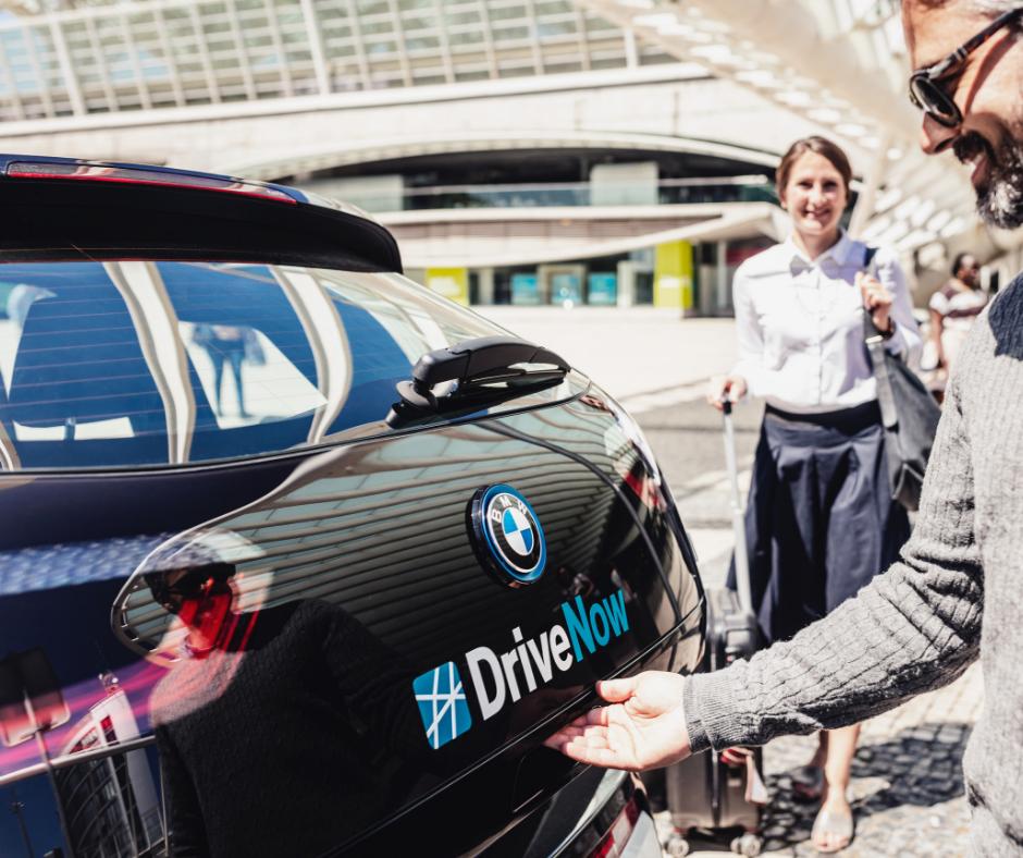 DriveNow Carsharing - Flughafen Transfer