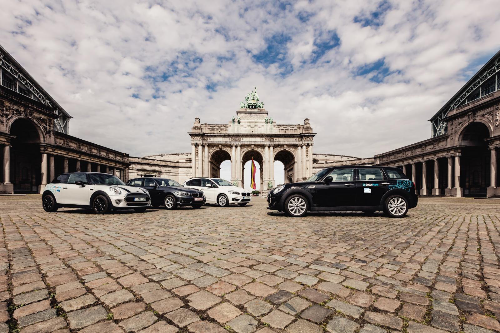 DriveNow_Brussels_Fleet