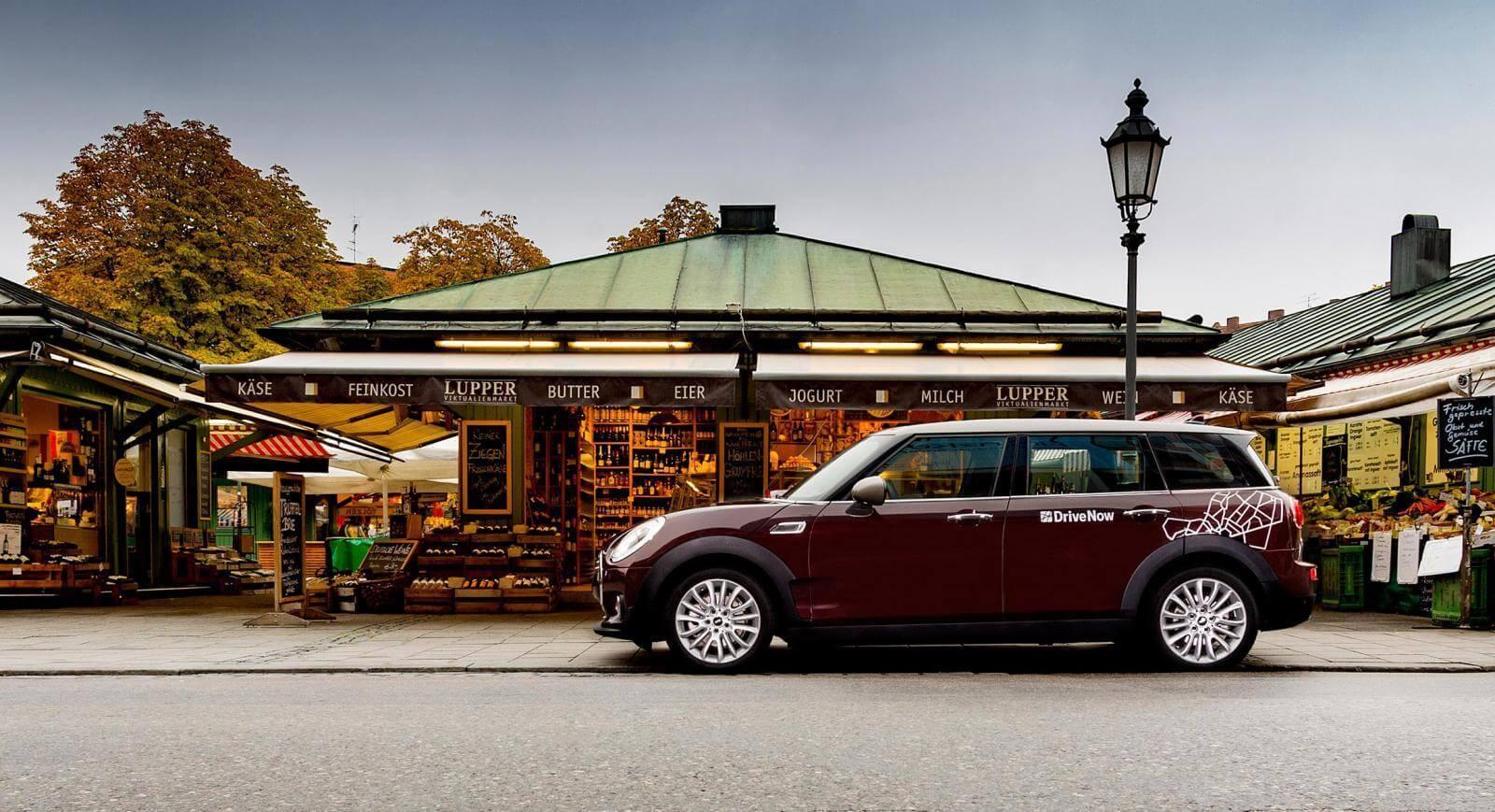 Car Rental Munich Drivenow Rent A Car Per Minute Hour Or Day
