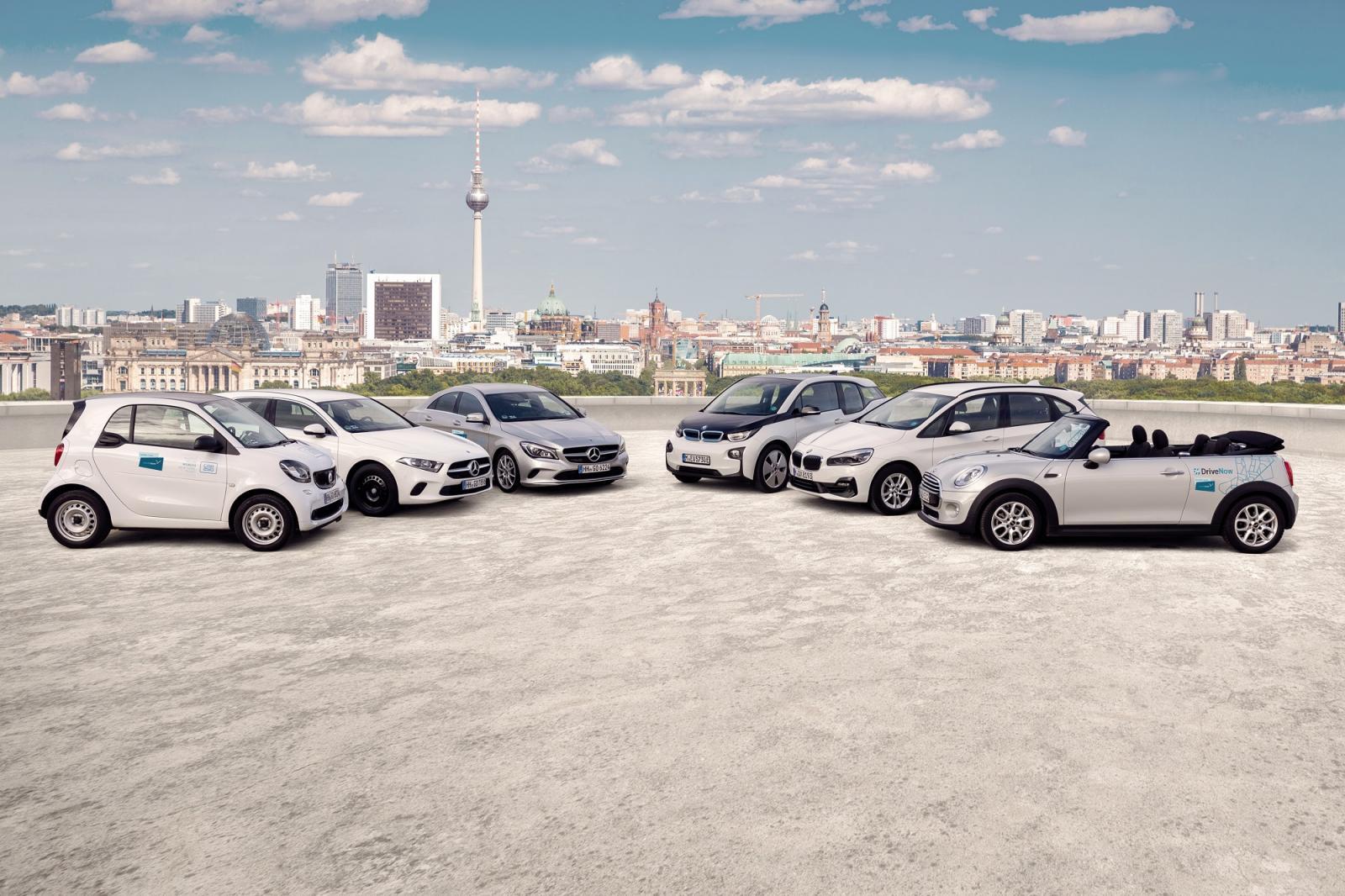 Carsharing Berlin Mit Drivenow Autos Mieten Pro Minute Stunde Tag