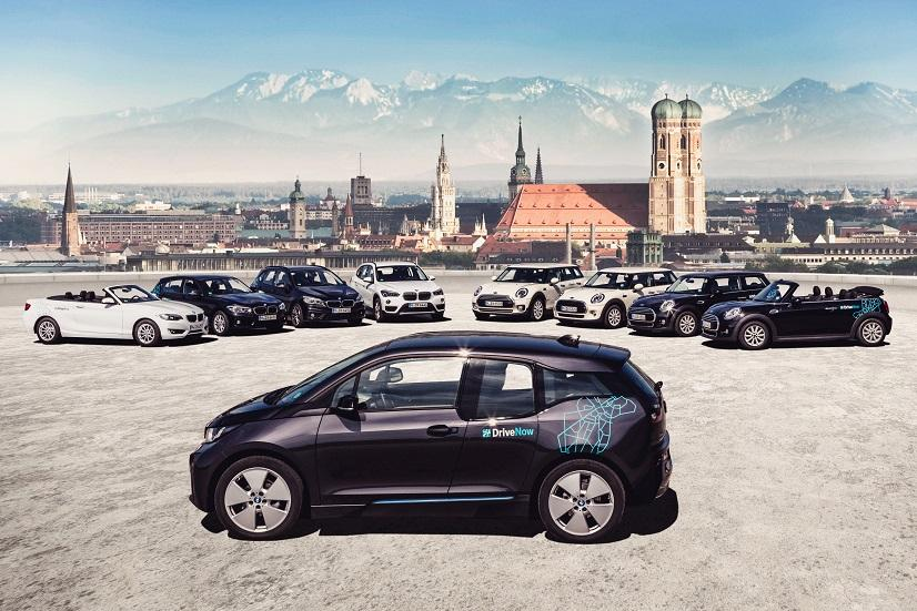 DriveNow_Fleet_Munich